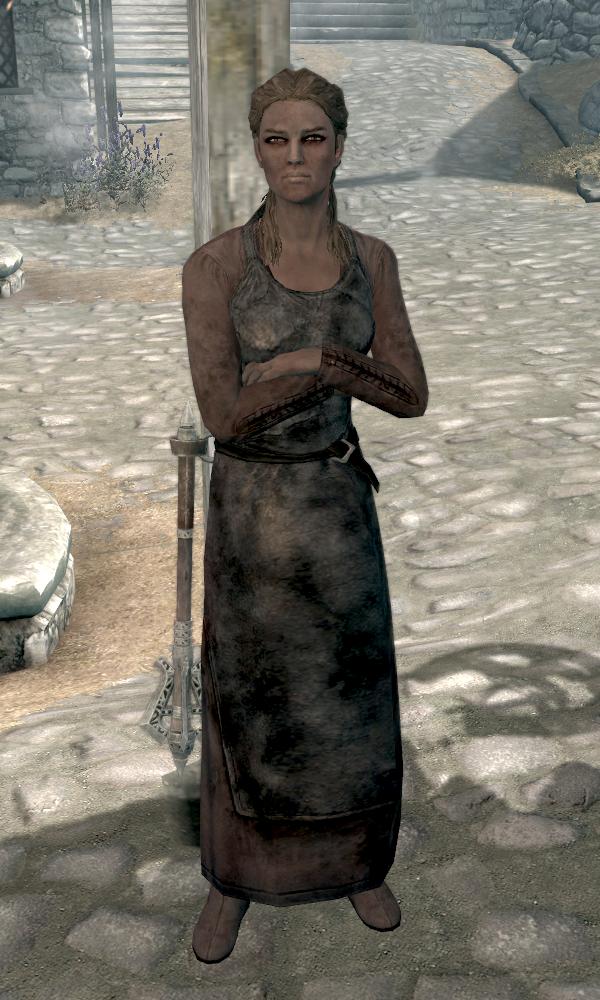 Don t claim to be the best blacksmith in whiterun eorlund gray