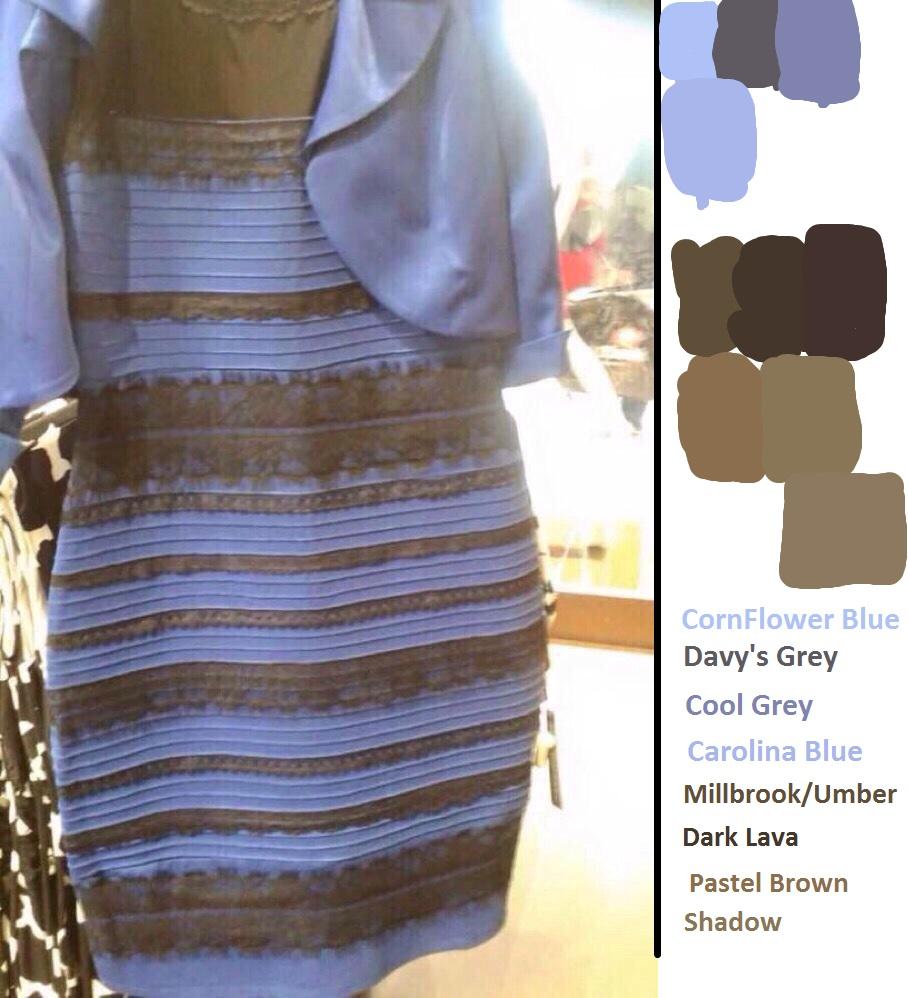 Платье белое с золотым или синее с чёрным