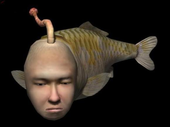 Good god Seaman finally evolved to it's human form. - #131600935 ...