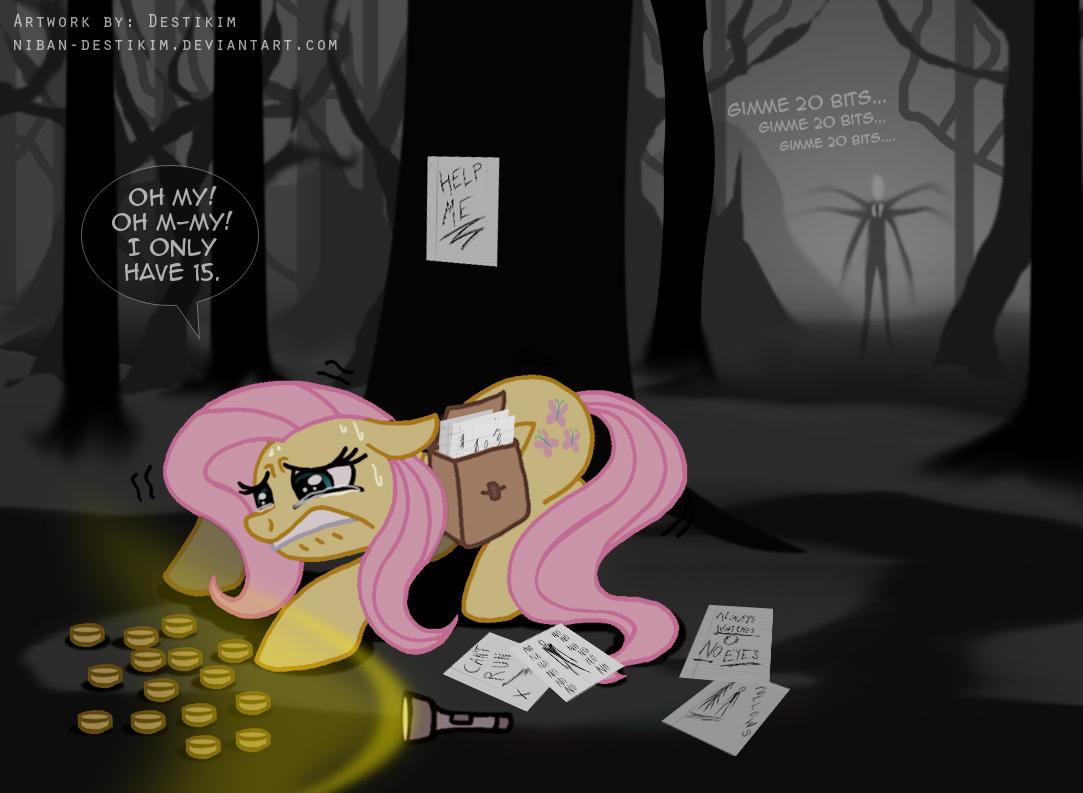 Jeff The Killer and Slender Pony by MadameFurryMamma on DeviantArt