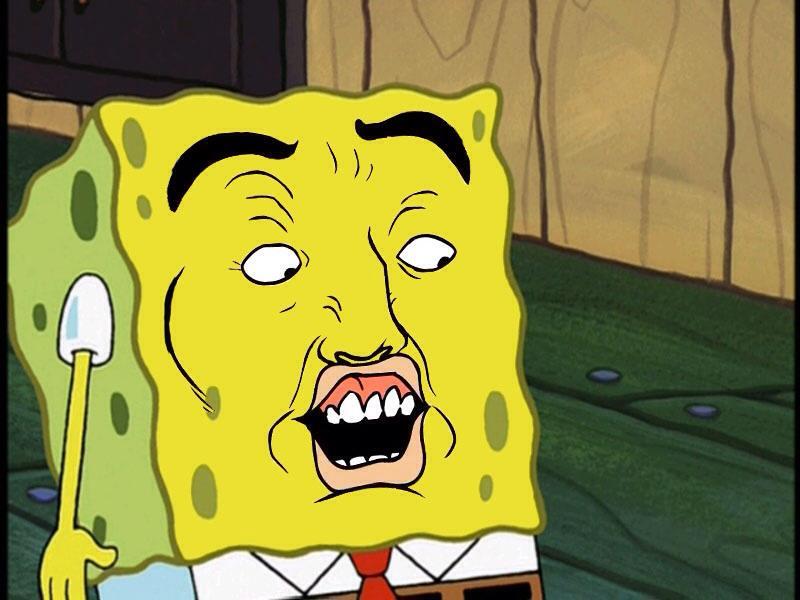 Spongebob does the Spongebob dance (yeah, it's that kind of video ...
